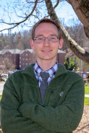 Jeddidiah W.D. Griffin, an assistant professor of biology at Mars Hill University, published research exploring the structure of the SARV-CoV-2 virus.