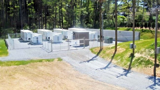 Duke Energy debuts largest battery system in North Carolina in Asheville's Shiloh community.