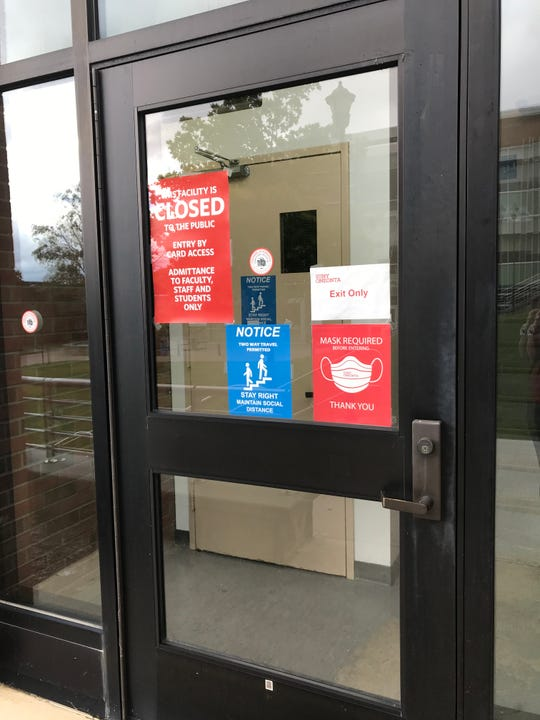 SUNY Oneonta canceled in-person classes after a surge in coronavirus cases. The State University of New York is now requiring all students to receive a negative coronavirus test before heading home.