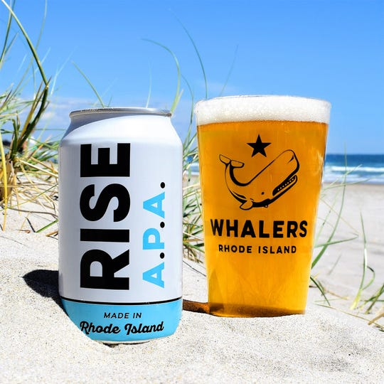 An India pale ale from Whalers Brewing Co. in South Kingstown, Rhode Island.