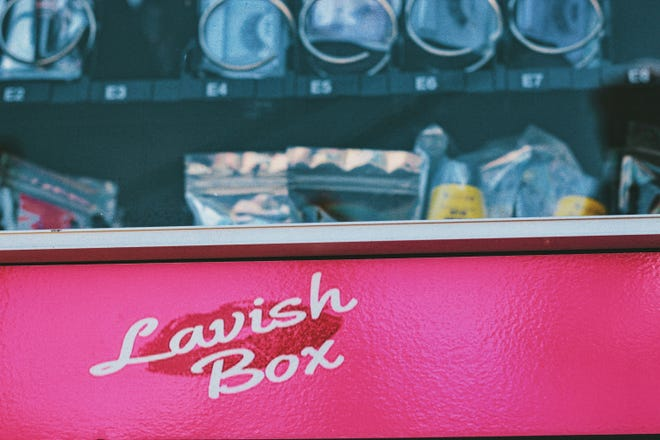 The hair care vending machine called the Lavish Box can be found on the second floor of the New Center One building in Detroit.