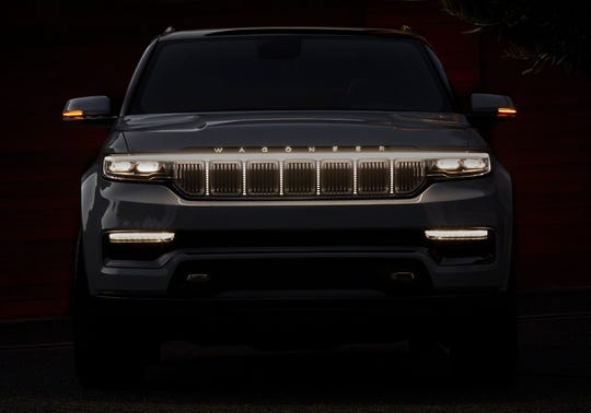 The all-new Grand Wagoneer Concept marks the rebirth of a classic and premium American icon. The Grand Wagoneer ConceptÕs exterior design is anchored by a prominent Obsidian Black-accented grille featuring the Jeep brandÕs iconic seven slots.