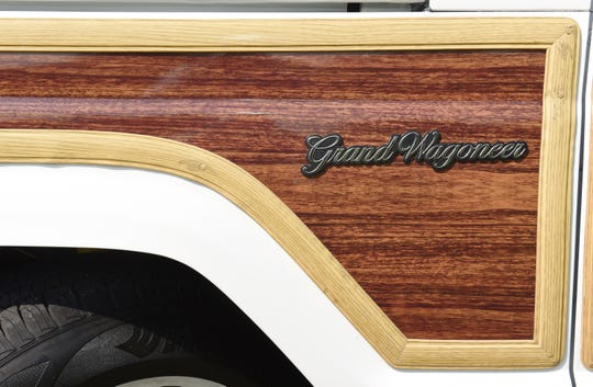 The Grand Wagoneer is iconic for its exterior wood-grain panels.