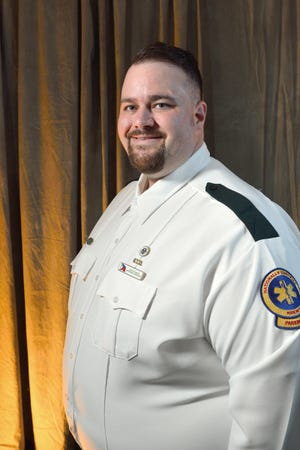 Jeremy Brown, Acadian Paramedic of the Year 2020