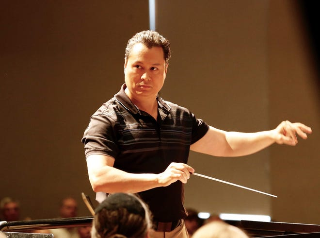 Stephen Domka has been the orchestra director at Lexington Local Schools since 2009 and  recently was named conductor of the Mansfield Symphony Youth Orchestra.