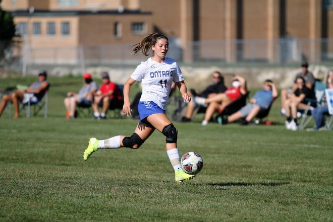 Ontario's Rylee Nigh handed out assist after assist over the Lady Warriors two games last week, both resulting in wins.