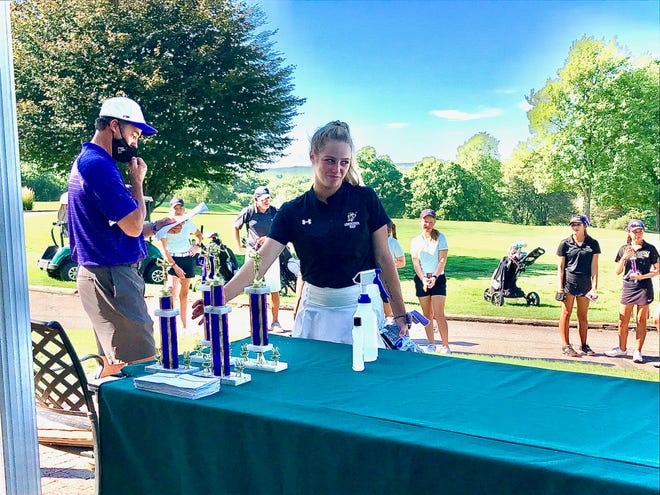 Lexington's Mandie Ruminski fired a 76 at Westbrook Country Club during the Lexington Elite Invite, the fourth-best score of the tournament.