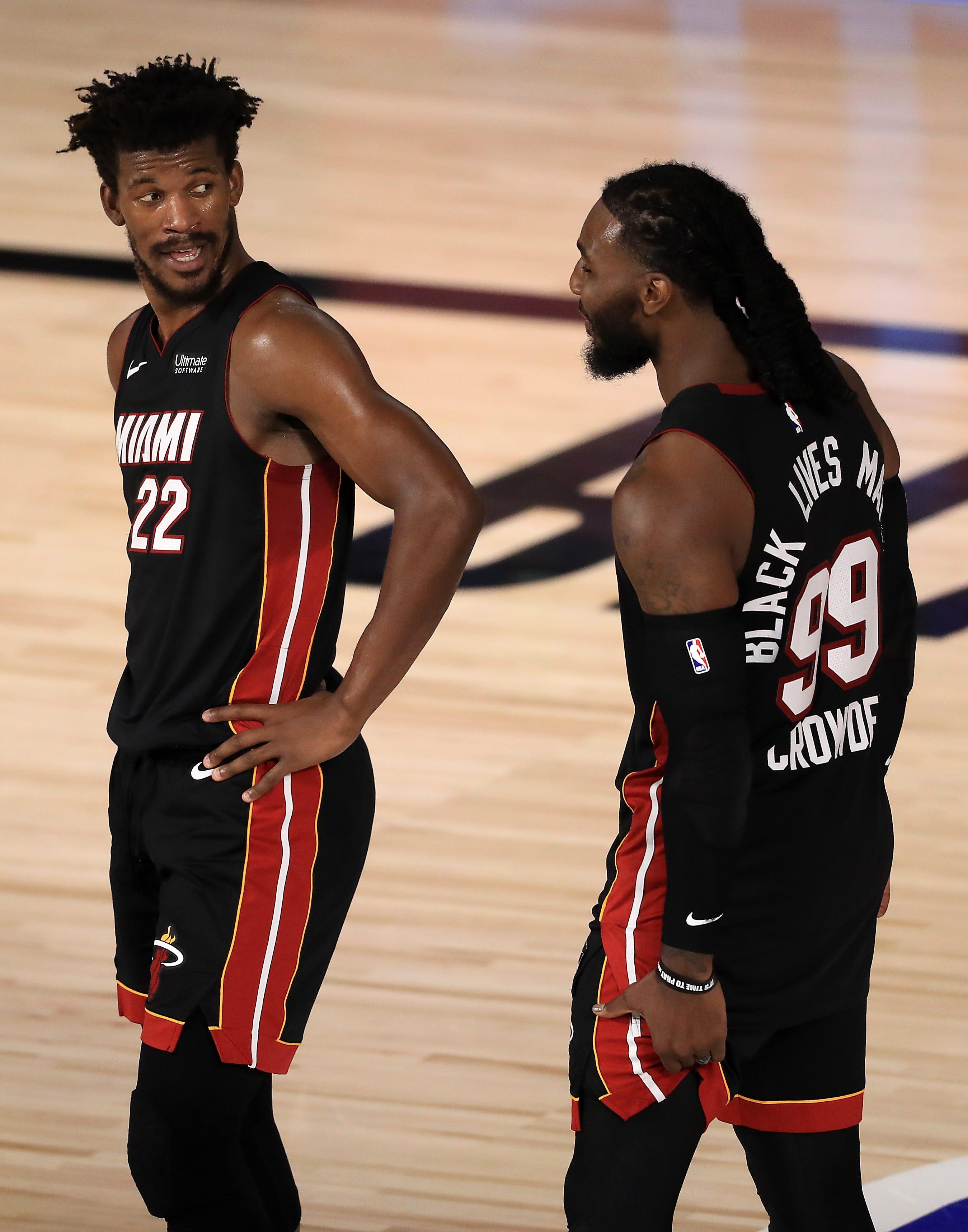 Marquette S Butler Crowder And Matthews In Bucks Heat Nba Playoff Series