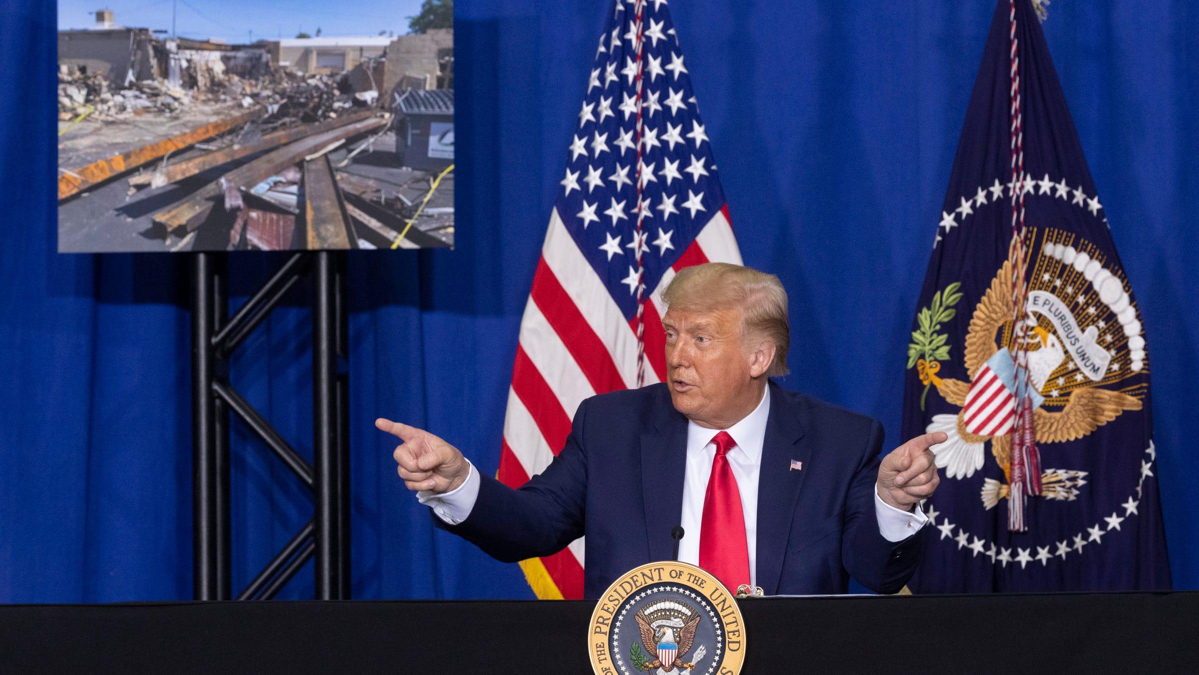 Trump visiting La Crosse and Green Bay on Saturday