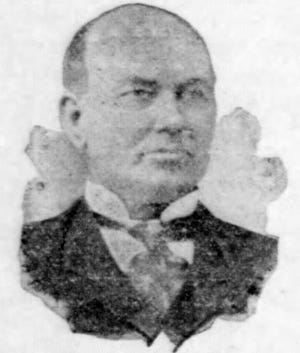 """C. C. """"Curley"""" Duson photo from about 1906"""