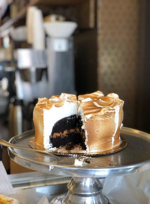 S'mores Cake at The Artist Baker in Morristown