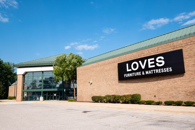 Loves Furniture held a soft opening in the former Art Van building in Port Huron Township in summer 2020.