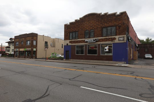 It is believed that Daniel Prude broke windows on West Main Street.