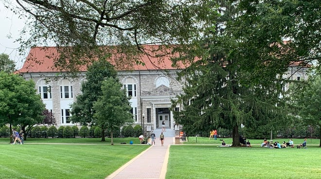 Photograph taken of James Madison University campus on Tuesday, Sept. 1, 2020.