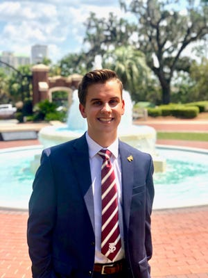 Jack Denton, senior political science major at Florida State University who was removed in June 2020 as Student Senate President.
