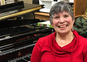 MSU Department of Music will present First Friday Concerts with Dr. Ruth Morrow  -- 20- to 30-minute events live-streamed only on the university website.