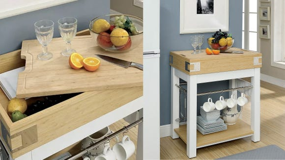 Need some spare counter and storage space? We've got you covered.