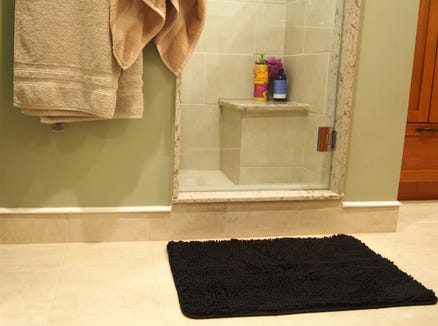 This Gorilla Grip bath mat is a major win.