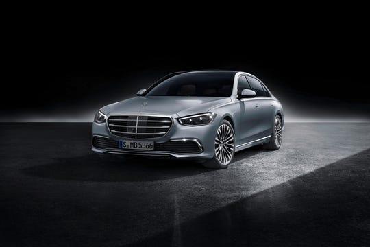 The 2021 Mercedes S-Class sedan.
