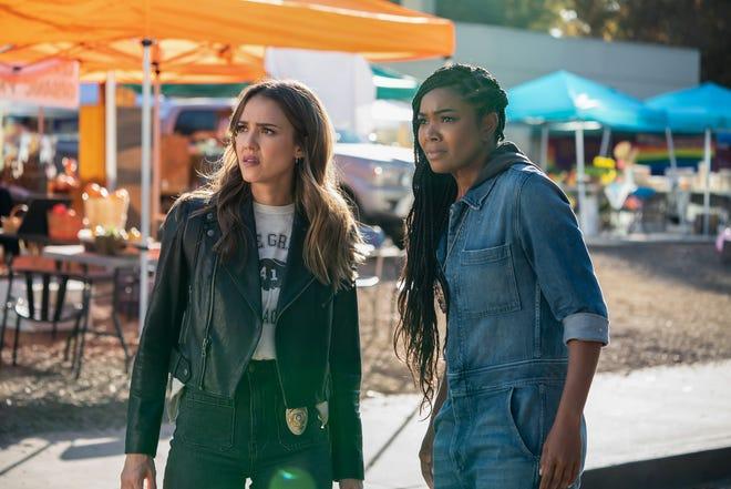 "Jessica Alba and Gabrielle Union star in ""L.A.'s Finest."""