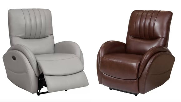 This leather recliner is a popular Wayfair pick.