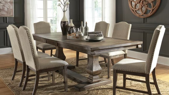This Johnelle dining table and chairs set is a stellar buy during this sale.