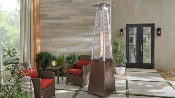 Get a patio heater while they're still hot.