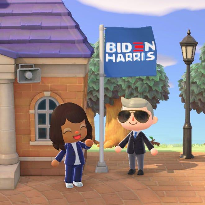 Biden Harris Campaign Launches Animal Crossing Merchandise