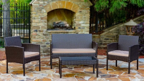 You can save up to 60% on outdoor furniture at Wayfair right now.