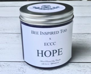 A look at the Hope candle