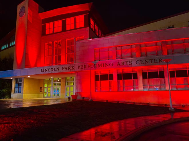 The Lincoln Park Performing Arts Center took part in Tuesday's #RedAlertDay, where 1,700 North American venues called attention to the need for federal financial support, with the industry devastated by the pandemic.
