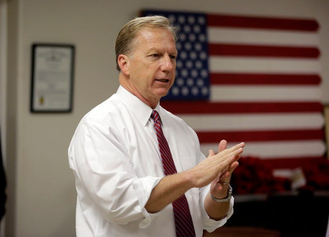 U.S. Rep. Kevin Hern will face a Democratic challenger in November for his seat in District 1. MIKE SIMONS via AP