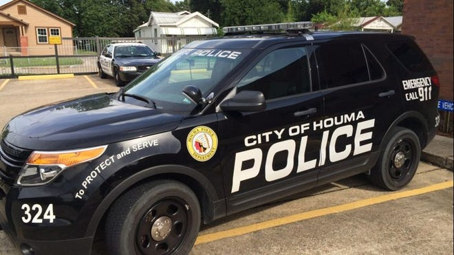 Houma Police unit