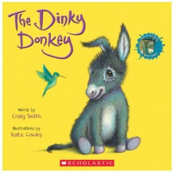 """""""The Dinky Donkey"""" by Craig Smith"""