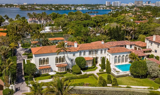 Once owned by the late John Lennon, a Palm Beach estate at 720 S. Ocean Blvd. is under contract after being listed in April at $47.5 million. [Photo by Dakoda Wright for Andy Frame Photography]