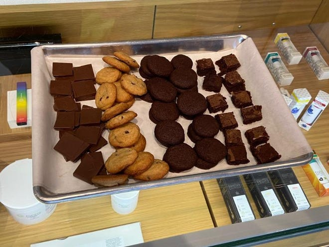 The availability of edibles in Florida comes as the number of eligible medical marijuana patients nears 400,000, according to the state Department of Health.
