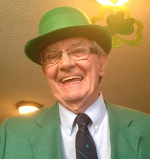 Frank Fahy, a former Juno Beach mayor and councilman, died last month at the age of 84. He was known for holding popular St. Patrick's Day parties [PROVIDED BY KATHLEEN FAHY]