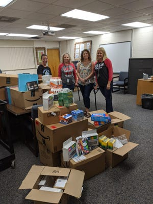 The Junior Service League of Port St. Joe donated supplies to both elementary schools