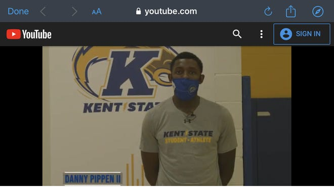 Danny Pippen, Kent State