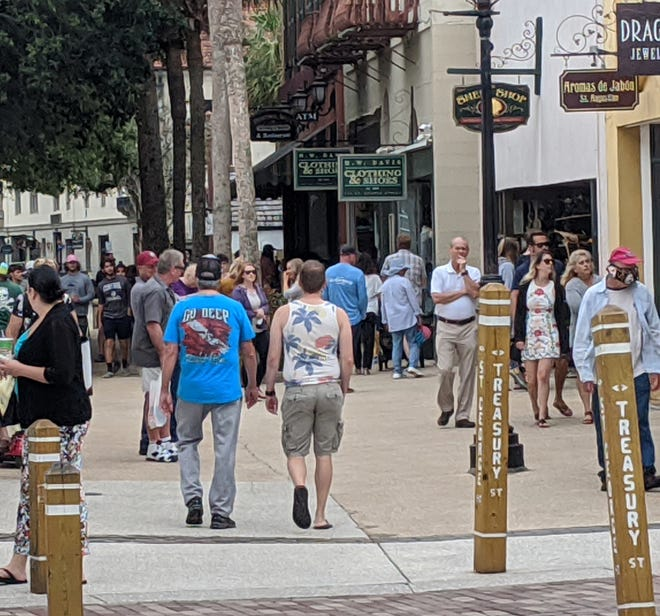 St. George Street opens.