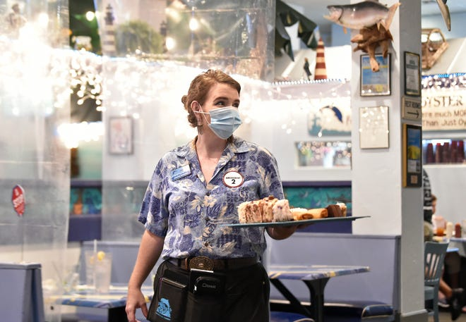 Misty Johnson is a server/trainer at Anna Maria Oyster Bar Landside.