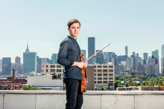Violinist Benjamin Beilman, who has family in Sarasota, will perform with pianist Yekwon Sunwoo for the Sarasota Concert Association's 2022 Great Performers Series.