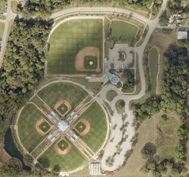 Atwater Community Park is home to four Little League fields and one regulation size baseball field.