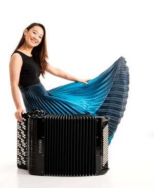 Accordionist Hanzhi Wang, who was scheduled to perform live for an Artist Series Concerts of Sarasota program, will instead appear in a special video performance in October.