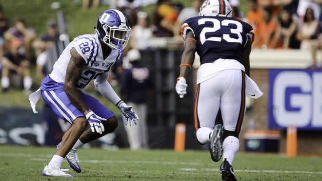 Terry Sanford graduate Mark Gilbert (28) will be back in action this season at Duke after missing almost two years with a hip injury. (Photo courtesy of Duke University Athletics)
