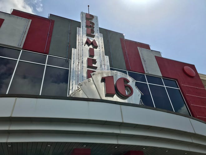 Gadsden Premiere Cinema 16 at the Gadsden Mall is pictured.