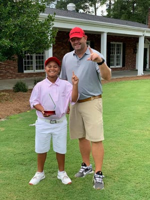 Bibb County graduate and former University of Alabama golfer Chip Deason, is making national news as coach to 10-year-old Xavier Perez who is being touted as a young Tiger Woods.