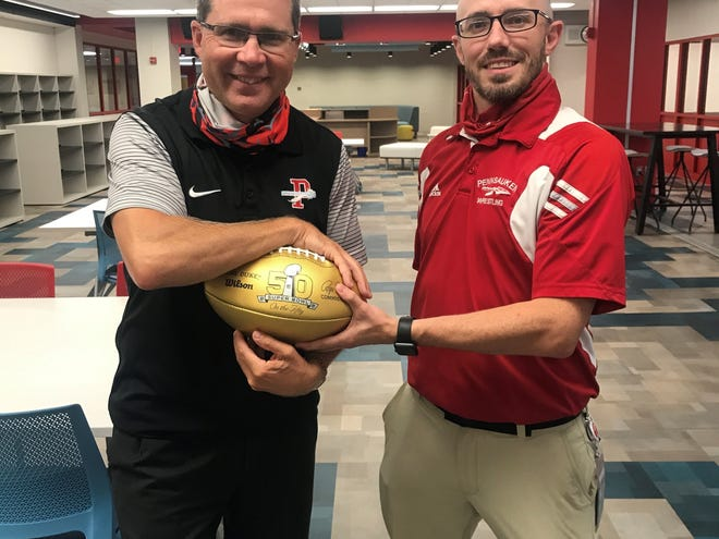 Pennsauken's Billy Snyder  (left) and Eric Mossop (right) have accepted new jobs in the school district. Snyder takes over as Athletic Director while Mossop is the new Director of Technology.