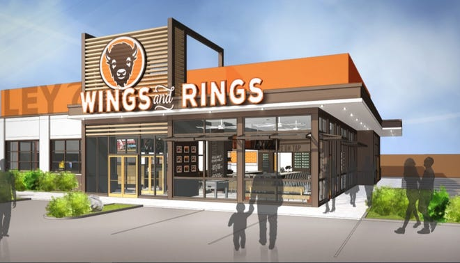 Buffalo Wings & Rings is launching a new sports bar and restaurant model in Miami Township, featuring the chain's first-ever digital and off-premises amenities.
