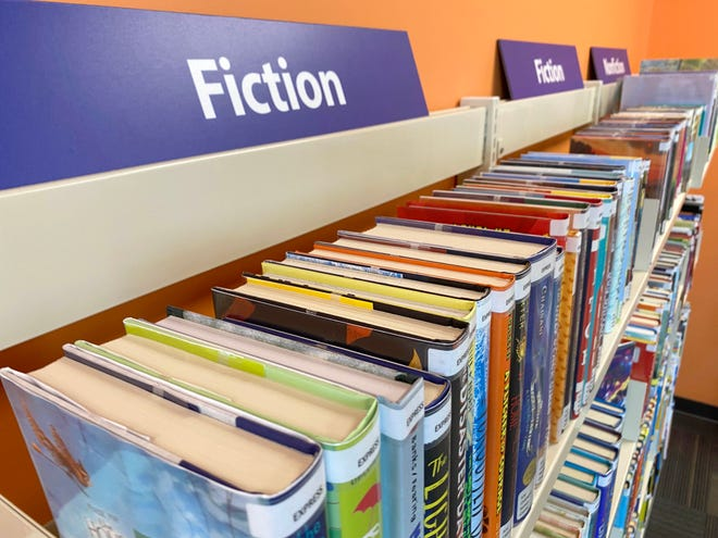 The books on the shelves are just part of what the library has to offer.